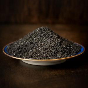 sel noir d'hawai