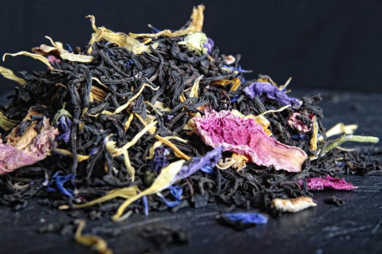 thé noir l'ours orange